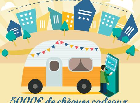 La caravane vintage à Besançon… 5.000€ de cadeaux à gagner !