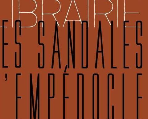 LES SANDALES D'EMPEDOCLE