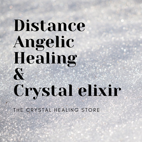 Distance Angelic healing session with free elixir - Angel guidance