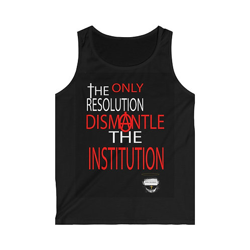Dismantle The Institution Tank Top