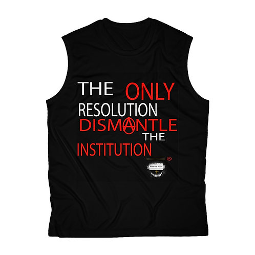 Men's Bass The Beast Dismantle The Institution Sleeveless Performance Tee