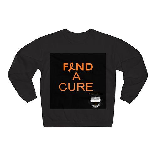 Unisex Bass The Beast Find a cure Crew Neck Sweatshirt
