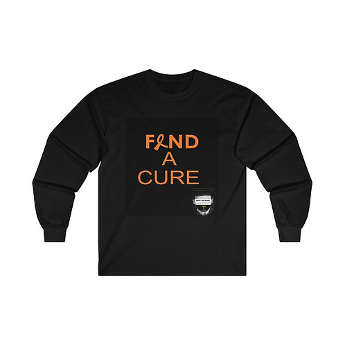 Men's Find A Cure Ultra Cotton Long Sleeve Tee