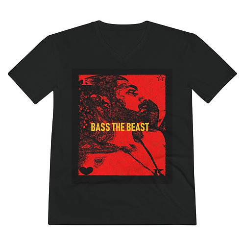 Men's Bass The Beast Royalty V-Neck Ultra Cotton Tee