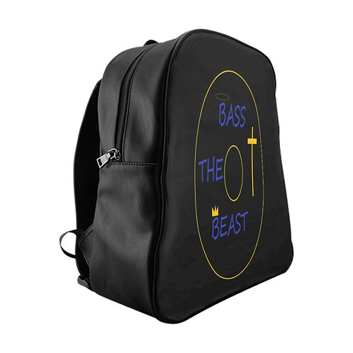 Bass The Beast Backpack  (Gold Edition)