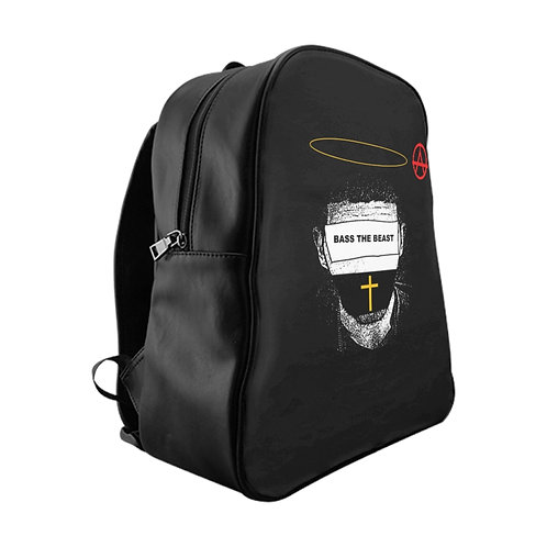 Bass The Beast Jet Black Backpack (Anarchy Edition)