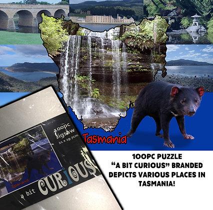 A Bit Curious 100Pc Tasmanian Devil Jigsaw Puzzle