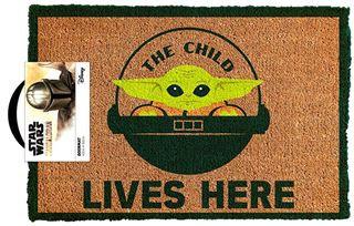 Star Wars The Mandalorian The Child Door Mat