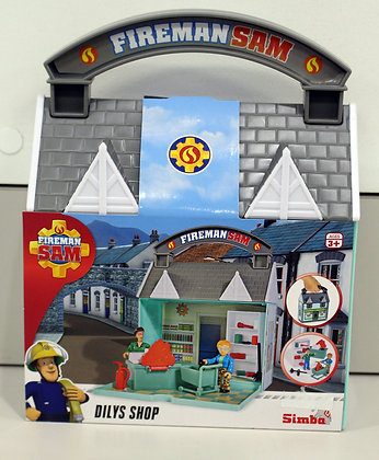 Fireman Sam Dilys Shop Figure Set