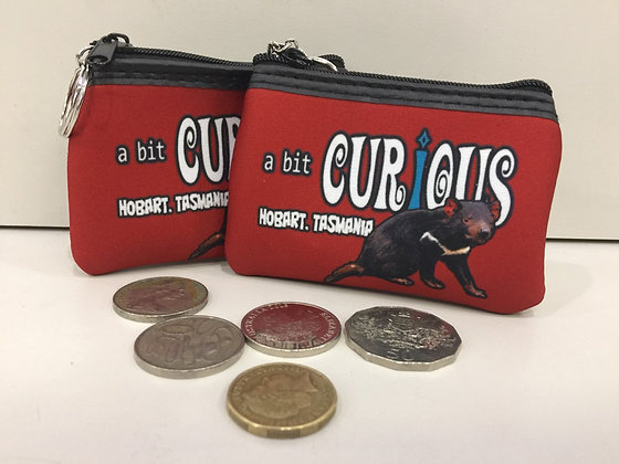A Bit Curious Tasmanian Devil Coin Purse