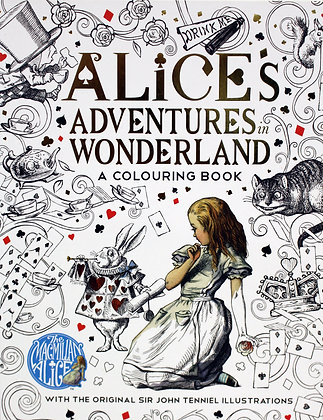 Alice's Adventures in Wonderand - A Colouring Book