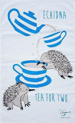 Heritage Isle Tasmanian Echidna Tea Towel