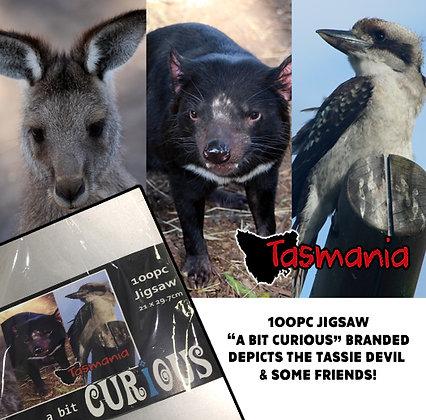 A Bit Curious Tasmanian Tryptych 100pc Jigsaw