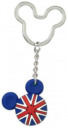 Disney Mickey Mouse UK Ball Keyring