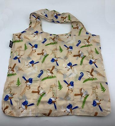 Heritage Isle Blue Wren Fold Up Bag