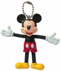 Disney Mickey Mouse Bendable Keyring