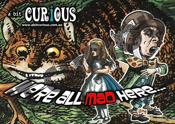 A Bit Curious Alice We're all Mad Here 100pc Jigsaw Puzzle