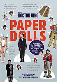 Dr Who Paper Dolls Book