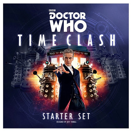 Dr Who Time Clash Starter Ser