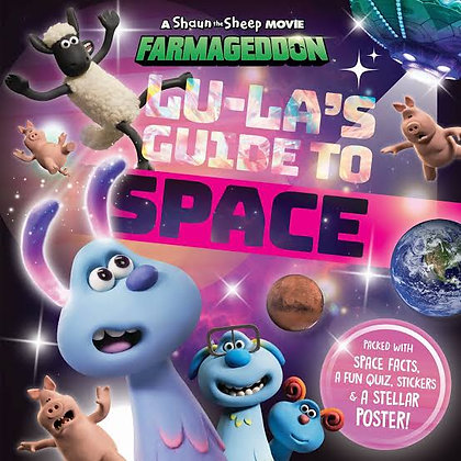 Shaun the Sheep Lu-La's Guide to Space Book