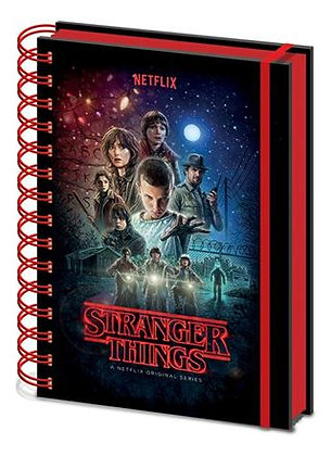 Stranger Things Notebook
