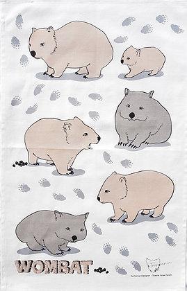 Heritage Isle Wombat Tea Towel