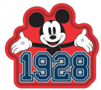 Disney Mickey Mouse 1928 Fridge Magnet