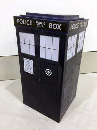 Dr Who TARDIS tin