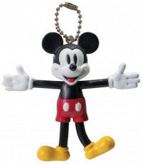 Disney Mickey Mouse Retro Bendable Keyring