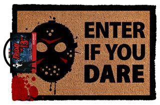 Friday the 13th Door Mat