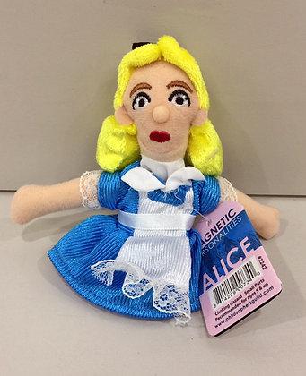 Alice in Wonderland Alice Magnetic Finger Puppet