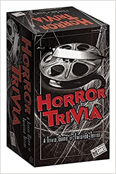Horror Trivia Card Game