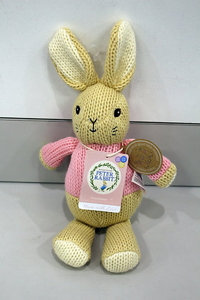 Beatrix Potter -Flopsy Made with Love Knit Toy