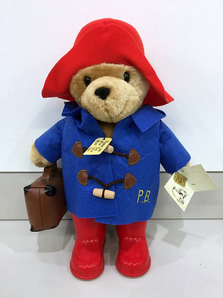 Paddington Bear Plush with Boots and Suitcase