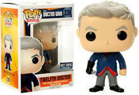 Dr Who 12th Doctor with Spoon POP