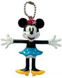 Disney Minnie Mouse Retro Bendable Keyring