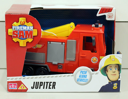 Fireman Sam Jupiter Push Along Vehicle