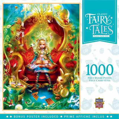 MasterPieces Classic Fairy Tales Alice's Tea Party 1000pc Jigsaw