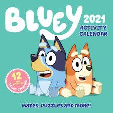 Bluey 2021 Activity Calendar