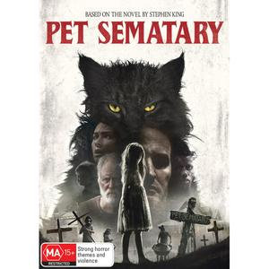 Pet Sematary 2019 DVD