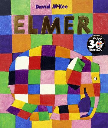 Elmer the Elephant 30th Anniversary Edition Book