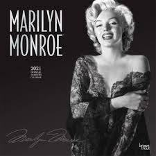 Marilyn Monroe 16 month 2021 Calendar