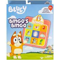 Bluey Bingo's Bingo
