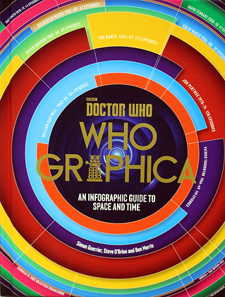 Dr Who Whographica Book