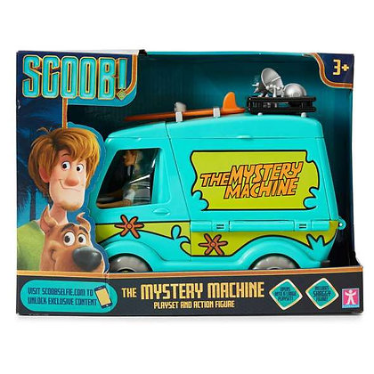Scoob! Mystery Machine Playset