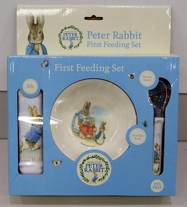 Beatrix Potter First Feeding Set