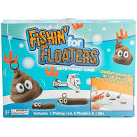 Fishin' for Floaters Bath Fishing Game