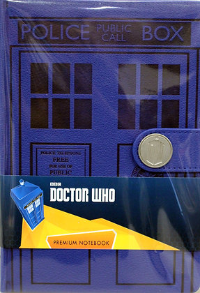 Dr Who TARDIS Premium Notebook