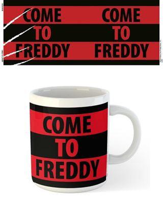 Nightmare on Elm Street Come to Freddy Mug