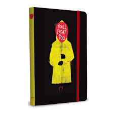 IT You'll Float Too Softcover Notebook